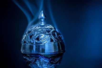 blue incense