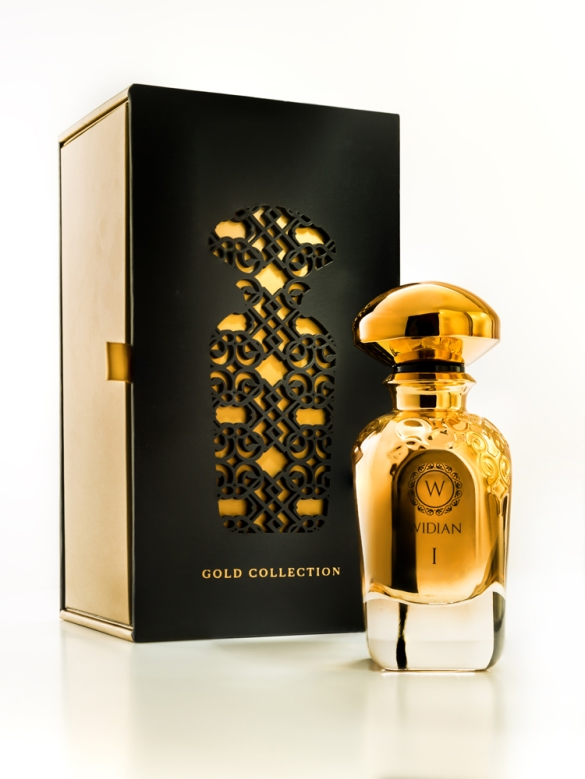 widian gold collection bottle